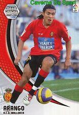 197 JUAN ARANGO VENEZUELA RCD.MALLORCA TARJETA CARD MEGA CRACKS LIGA 2008 PANINI
