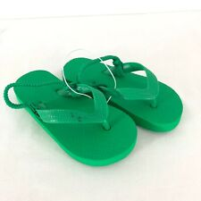 Cat & Jack Toddler Boys Lance Flip Flop Sandals Green Shoes Size M 7/8