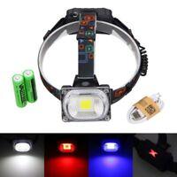 Super Bright 3000lm 30W COB RGB LED Outdoor Light Head Lamp Handheld Torch Bulb
