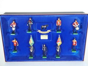 Britains Soldiers. Staffordshire Regiment. 10 Piece Set #5194. Ltd Edition. MIB