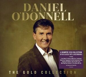 Daniel O'Donnell The Gold Collection 3 CD Digipak NEW