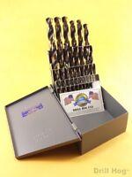 Drill Hog® 25 Pc Metric Drill Bit Set HI-Molybdenum M7 MM 100% Lifetime Warranty
