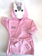 Personalized Pink UNICORN Bathrobe Sz 0-9 Mos ~ NEW with TAG!