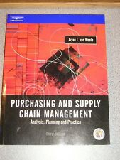 PURCHASING & SUPPLY CHAIN MANAGEMENT 3e 2003 Weele NEW