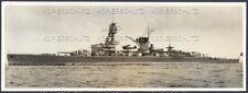 großes Foto Panzerschiff Deutschland 1937 schwerer Kreuzer Lützow Größe 24 x 9