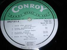 LIBRARY CONROY/BERRY MUSIC BLMP011 10inch LP 1966 Hanmer/Eagles/Swan a.o.  *RAR*