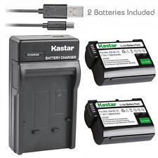 Kastar EL15 Battery&Slim USB Charger for Nikon D600 D610 D750 D800 D800E D7000