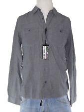 h&m divided camicia uomo grigio manica lunga taglia m medium