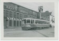 1930s Virginia Electric & Power Co. #205 Streetcar Trolley Richmond VA Transit
