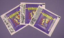 Star Trek Gum Wrappers - 1979 - Original Bubblegum Card Wrappers - 3 Variations