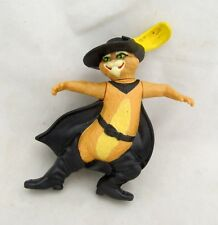 McDonalds Toy Puss N Boots Cat Shrek the Third Figure Figurine Cake Topper
