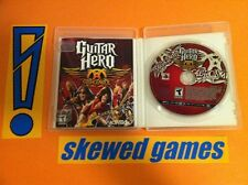 Guitar Hero Aerosmith - PS3 PlayStation 3 Sony COMPLETE