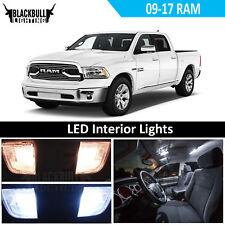 White LED Interior Light Accessory Kit MAP DOME fits 2009-2017 Dodge Ram 6 Bulbs