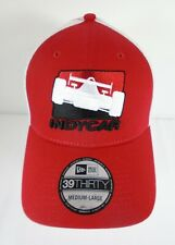 INDYCAR Series New Era 39Thirty Cap Collector Hat Medium-Large Red / White