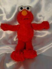 "Elmo Plush Sesame Street 10"" Stuffed Floppy Toy Fisher Price 2005 Red Monster"