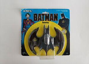 "Vintage 1989ERTL 'Batman' ""BATWING"" Die Cast Metal Toy Jet Figure A"