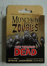Munchkin zombies card game: the walking dead expansion