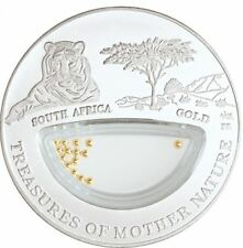 Treasures Mother Nature Gold South Africa 1$ Fiji 2012 Silver Coin