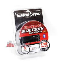 RockFord Fosgate RFBTAUX Universal Car RV Bluetooth Adapter w/USB Charging New