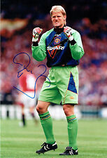 Peter SCHMEICHEL Signed Autograph Manchester United New Rare Photo AFTAL COA