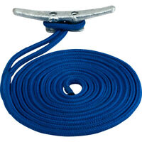 "Sea-Dog 302110025Bl-1 Double Braided Nylon Dock Line 3/8"" X 25' Blue"