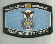 USAF United States Air Force Security Police patch 3-1/4X4-1/4 #8189