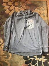 Sitka Charcoal Gray Traverse Zip-T-L