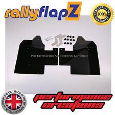 rallyflapz Citroen C2 Schmutzfänger rally-stil x 4 schwarz einfarbig 4mm PVC