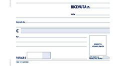 BLOCCO RICEVUTE GENERICHE CM.10X17 50/50 2 COPIE