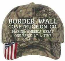 41bf7b7a72d1b Outdoor Cap - Cap With American Flag on Visor - CWF305 Adjust Mossy Oak  Country