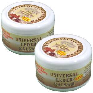 Lederbalsam Universal Lederpflege mit echtem Bienenwachs 250ml 2er Pack
