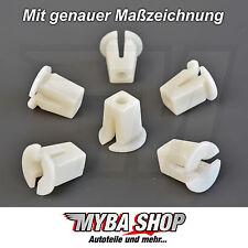 10x spreizmutter VW KLIPS universal para carrocería Weiss 1658275925 #neu #