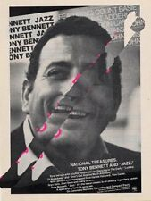 Tony Bennett Downbeat Trade Press Advert
