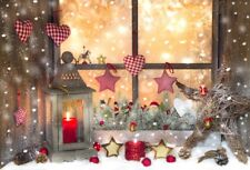 6x4ft Christmas Gifts Night View Photography Background Backdrops Studio Props