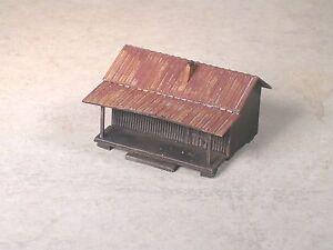 N Scale Ozark Hillbilly Weathered House