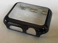Panzerschutz Display Schutz Glas Apple Watch Series 4 Cover für 44 mm schwarz