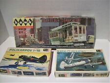 Vintage Model Kit Junkyard Lot