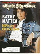 Music City News / April 1989 - Kathy Mattea on cover