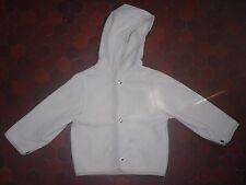 Veste capuche polaire beige enfant BURBERRY taille 5 ans