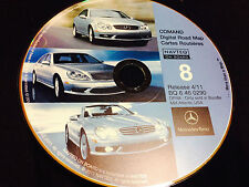 02 2003 MERCEDES E320 S500 E55 E320 E500 NAVIGATION CD 8 DE VA NJ PA MD © 2011
