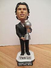"2007 NHL MVP SIDNEY CROSBY No.  87 PITTSBURGH PENGUINS 7.5"" Bobble Head"