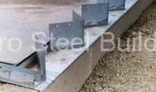 Duro Steel Arch Building 60' Metal Hand Welded Industrial Base Connector Plate