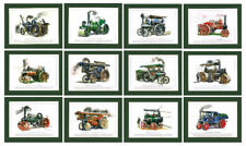 STOCK CLEARANCE - 1000 SETS OF 12 STEAM TRACTION ENGINE PRINTS - ONLY  £2950  !!