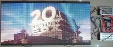 "50""x 25"" 1/4 Duty LED video Wall Full Color Programmable LED Sign DIY KIT"