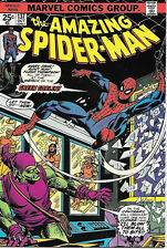 the Amazing Spider-Man Comic Book #137, Marvel Comics 1974 NEAR MINT