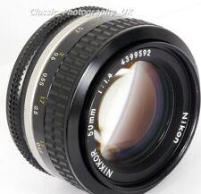 NIKKOR 50mm F1.4 Nikon FAST Prime Lens for FILM & Digital SLR + Nikon L1A Filter