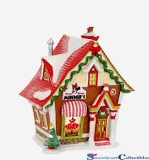 Department 56 Disney Christmas Village Minnie`s Dress Shop 4021755
