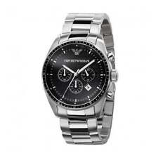 New Emporio Armani AR0585 Stainless Steel Luxury Watch Designer UK - Seller