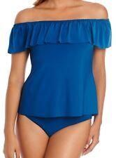 Magicsuit Size 8 Miraclesuit Tankini 2 Piece Swimsuit Kris Ocean Blue