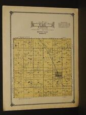 Minnesota Redwood County Map Vail Township 1914 W3#65